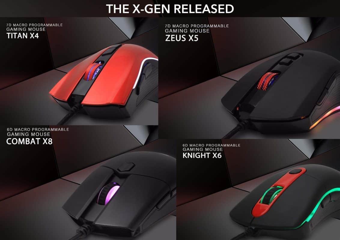 Fantech - THE X-GEN RELEASED