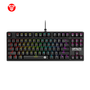 TASTATURA OPTIČKO-MEHANIČKA MK872 RGB OPTILITE (PLAVI SWITCH)