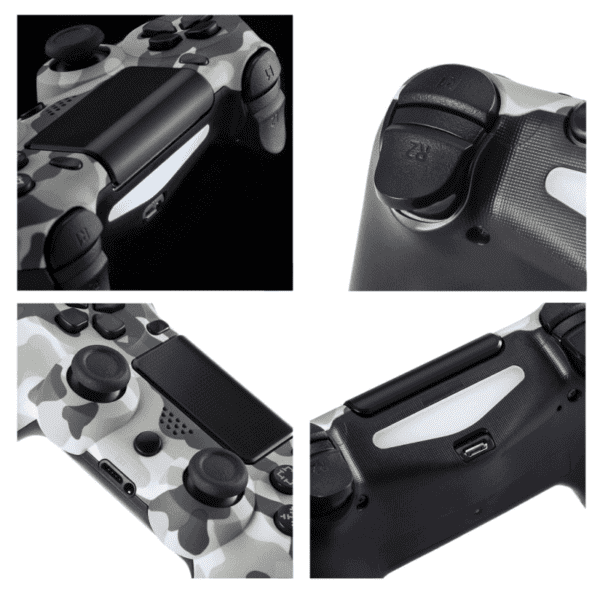 Joypad Dual Shock WIFI za PS4 army plavi