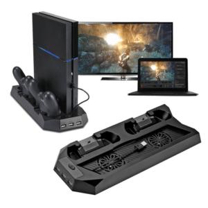 Dobe TP04-891 Kombo set punjac i cooler za PS4 konzolu