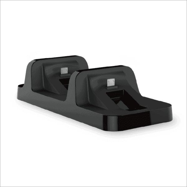 Dobe TP4-002 Punjac za PS4 kontrolere dual crni