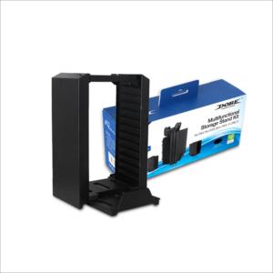 Dobe TP4-025 kombo set punjac, stalak za diskove i konzolu PS4
