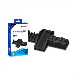 Dobe TP4-837 multifunkcionalni punjac i cooler za PS4 i PS4 Pro konzole