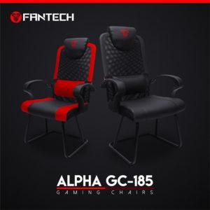 Fantech ALPHA GC-185s CRVENA gejming stolica