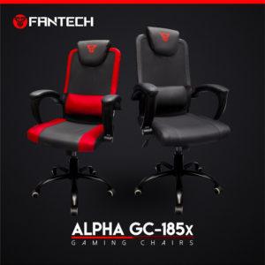 Fantech GC-185x ALPHA crvena gejming stolica